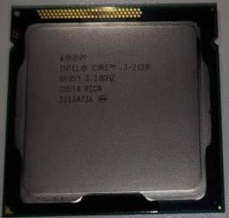 I3 2120 3.30 GHz Funcionando Perfeitamente!
