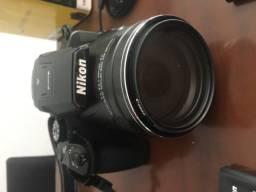 Título do anúncio: Câmera nikon p900 semi nova