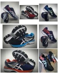 Vendo tênis Asics drop gel e sapatênis Tommy hilfiger ( 125 com entrega)