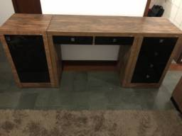 Mesa escrivaninha Dalla Costa - 3 peças