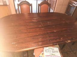 Mesa até 8 lugares