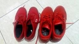 Tênis vermelho imperdível