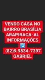 Casa no Bairro Brasília arapiraca Alagoas
