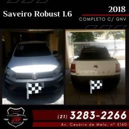 Saveiro robust 2018 completa GNV