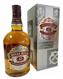Whisky Chivas Regal 12 Anos 1 Litro - Caixa Original