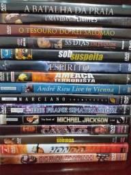 IMPERDÍVEL: Lote de 15 DVDs originais com preço de desapego (ITAJAÍ)