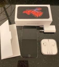 Iphone 6 S 64 gb completo na caixa funcionando tudo perfeitamente novo! leia
