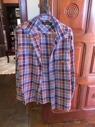 Camisa social manga longa tamanho g