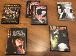 DVDs Rock + filme