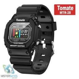 973 - Relógio Inteligente Smartwatch Sport Bluetooth Tomate Mtr-28