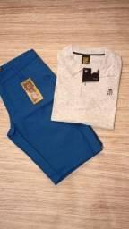 Bermuda + Camisa polo