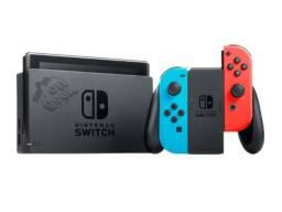 Nintendo Switch Neon Vermelho e Azul - V2 | Lacrado com garantia