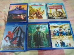 DVDs Blu Ray desapegando, somente R$ 4,99