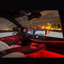 Led Neon Fita luz painel carro