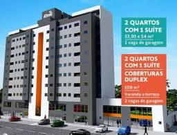 Apartamentos de 2 Quartos 1 Suíte 54M e Coberturas - Pertinho do Metrô