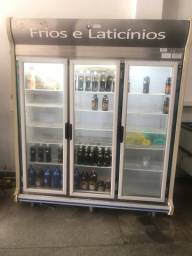 Freezer frios e laticínios 3 Porta