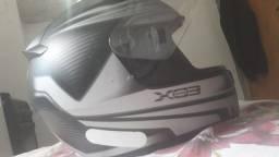 Capacete eox usado em boas condições.