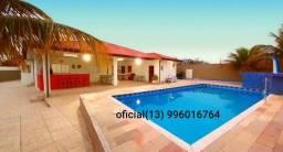 Casa com piscina em Peruibe (Carnaval já reservada)
