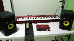 Kit Home Studio COMPLETO