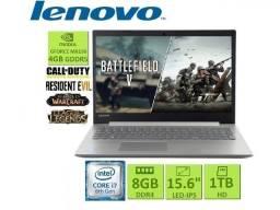 Notebook Gamer Lenovo| i7 | 8Gb ddr4| Gforce| HD 1TB