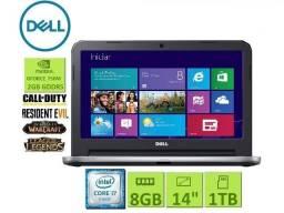 Notebook Dell| i7 | 8Gb ddr3| Gforce| HD 1TB