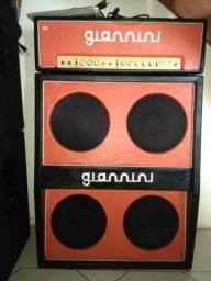 Amplificador Giannini valvulado