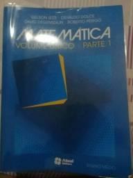 Livros de Matemática parte 1 ao 3