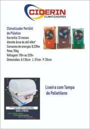 Climatizador ciderin novo com garantia