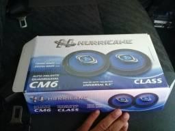 Vende-se alto falante hurricane de 6 cm novo na caixa, valor 90