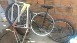 Bike, quadro, aros, garfo