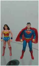 Lote de bonecos super powers anos 80