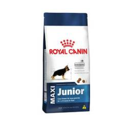 Royal Canin Maxi adulto ou junior 15kg #ProMoÇão