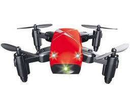 Mini Drone S9 Dobravel Controle Remoto portátil