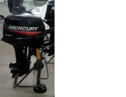 Motor de popa Mercury 15hp Super Zero!
