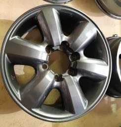 Rodas Aro 17 Originais Toyota Para Hilux, SW4, SRX, SRV e Carros Na Mesma Furação