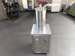 Maquina embutideira linguiça 15 kilos Pneumática