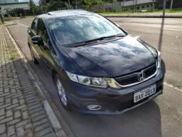 Civic automático 2012 impecável aceito troca - 2012