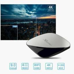 Box tv X88 PRO android 9.0, 4gb de memoria e 32gb! USB 3.0! - transforme tv em smartv