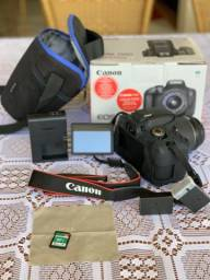 Canon EOS 750D + Lente EF-S 18-55mm f/3.5-5.6 IS STM Wi-Fi/NFC