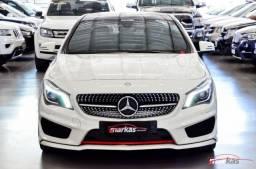 Mercedes CLA 250 MERCEDES CLA250 4M 211HP TETO R0DAS DA AMG ARO 20 65 MIL KM 4P - 2015