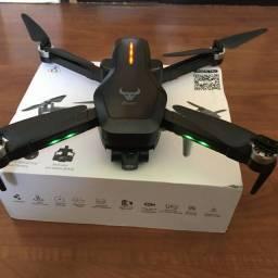 Drone semi-profossional com câmera 4k - voa 1.2km, bateria 25min, Guimbal