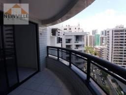 Apartamento com 3 quartos para alugar, 98 m² por R$ 2.958/mês - Boa Viagem - Recife/PE