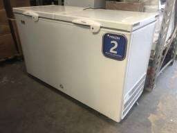 Freezer horizontal 503 litros 2 anos de garantia novo - lucas