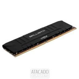 Memória Crucial Ballistix Sport LT - (1) 8Gb - 3000mhz DDR4 Preta