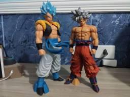 Gogeta e Goku Dragonball Grandista Resolution Of Soldiers Banpresto