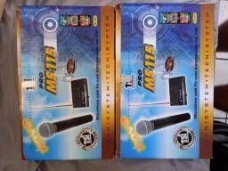 2 Microfones Tsi Pro Ms 115 De Mão