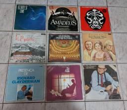 VINIL- LOTE C/22 LP'S/ CLÁSSICOS INESQUECÍVEIS/LA BOHÈME/KENNY  G