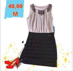 Lindo vestido social preto