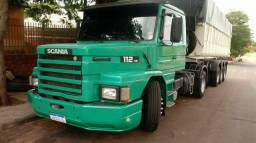 Scania 112 hs ,caçamba randon