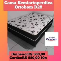 Box Casal de Espuma D28 Ortobom